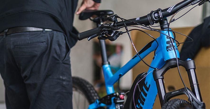 Storlek och inställning av cykel | XXL