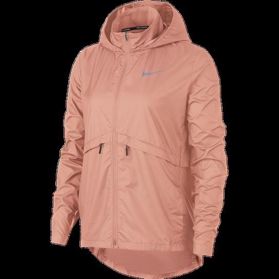 Essential Hooded Running Jacket, löparjacka dam