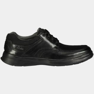 Clarks Cotrell Edge, fritidssko herr Svart Fritidsskor & sneakers Herr   XXL