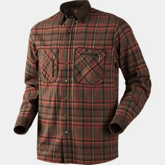 Chevalier Rispond Twill Shirt, flanellskjorta herr Grå