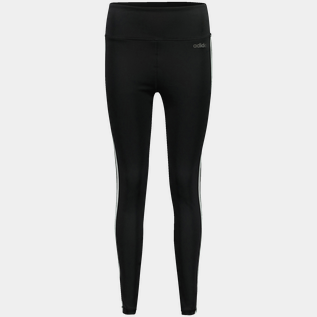 D2M 3-Stripes High Rise Tight, träningstights dam