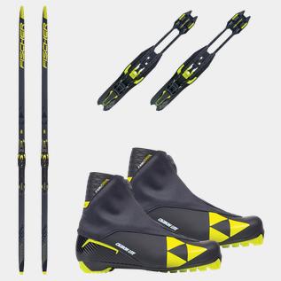 Ländpaket Skin skidor (vallningsfria) | XXL