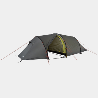 Romsdal 4-pers Tent SolidLtGrey/Br Magma