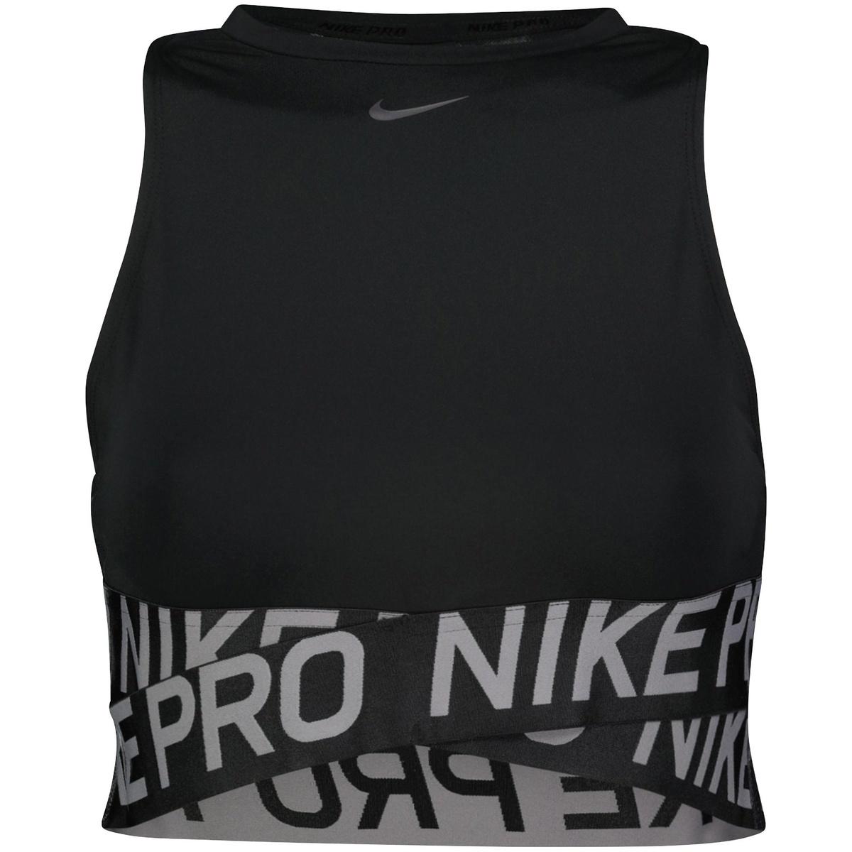 size 40 a1c7c ba18e Nike Pro Intertwist Tank, linne dam - Grå - Linnen Dam   XXL