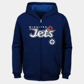 NHL Stated Full Zip Hoodie 19, luvtröja junior