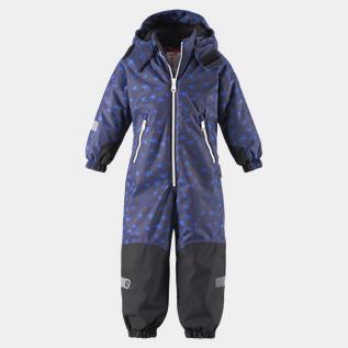 Reimatec Overall Snowstorm, overall barn Dark Blue Vinteroverall | XXL