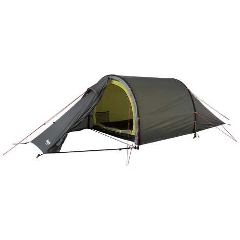 Romsdal 2-pers Tent SolidLtGrey/Br Magma