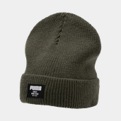 Ribbed Classic Beanie Usx MOSS GREEN