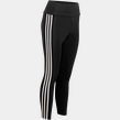 High Rise 3-Stripes 7/8 Tights, träningstights dam